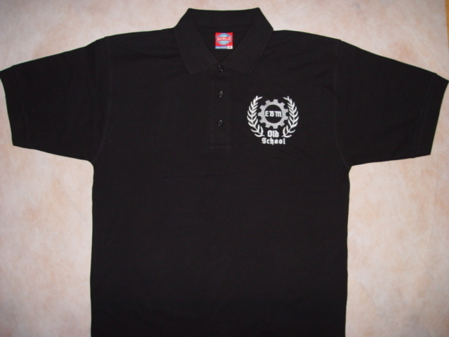 EBM OLD SCHOOL Herren Polo