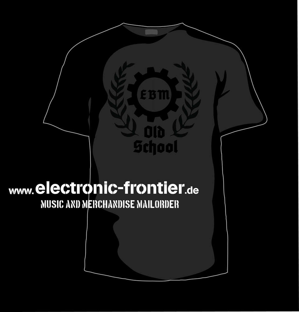 86eee1083 EBM OLD SCHOOL T-Shirt black black - EBM - Electro - Kleidung aus ...