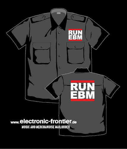 RUN EBM Worker Shirt