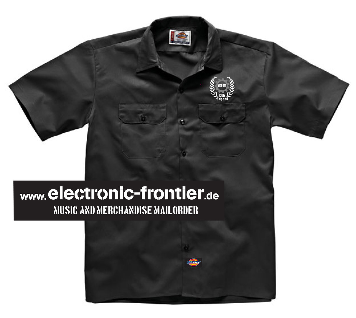 EBM old school Dickies Worker Shirt