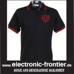 polo shirt with red Stripe EBM old school