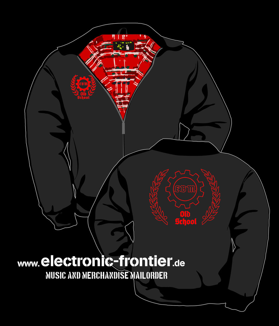English Style Jacket Old School EBM red