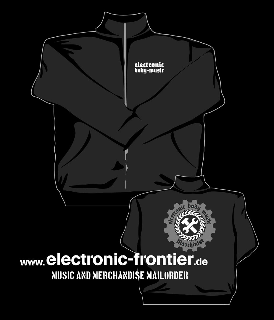EBM Maschinist Sweat Jacke