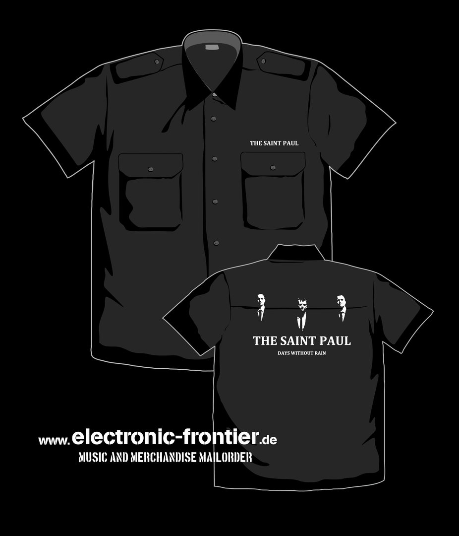 THE SAINT PAUL Worker Shirt with epaulets