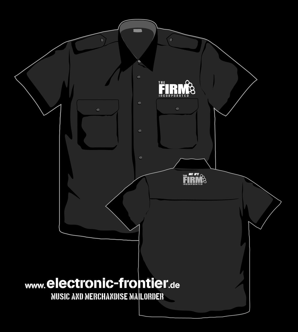 The Firm Inc. Worker Shirt with epaulets