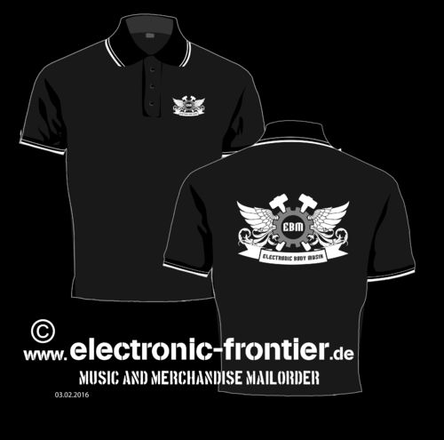 EBM Wings Girlie Polo Shirt