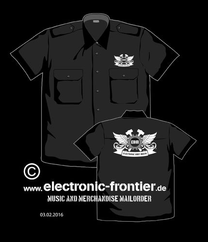 EBM Wings  Worker Shirt with epaulets