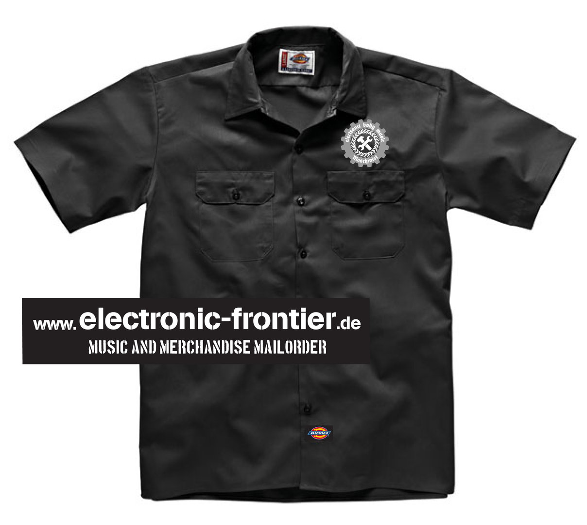 EBM Maschinist Dickies Worker Hemd