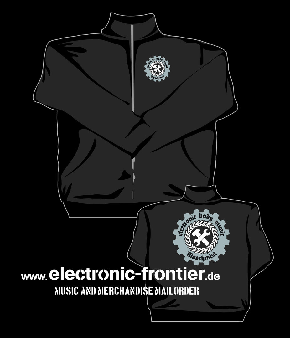 EBM Maschinist Sweat Jacke 2