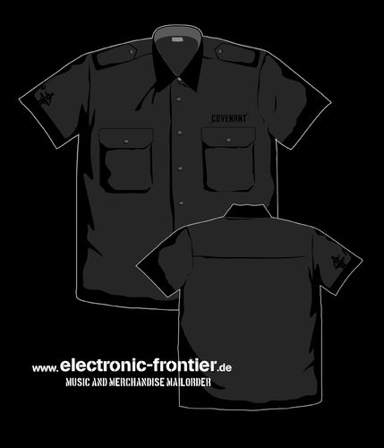COVENANT Worker Shirt black on black