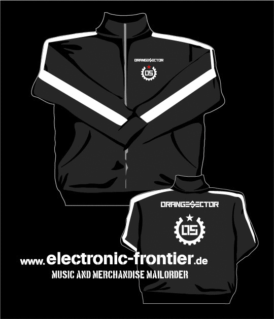 ORANGE SECTOR ALARM Retro Sport Jacke