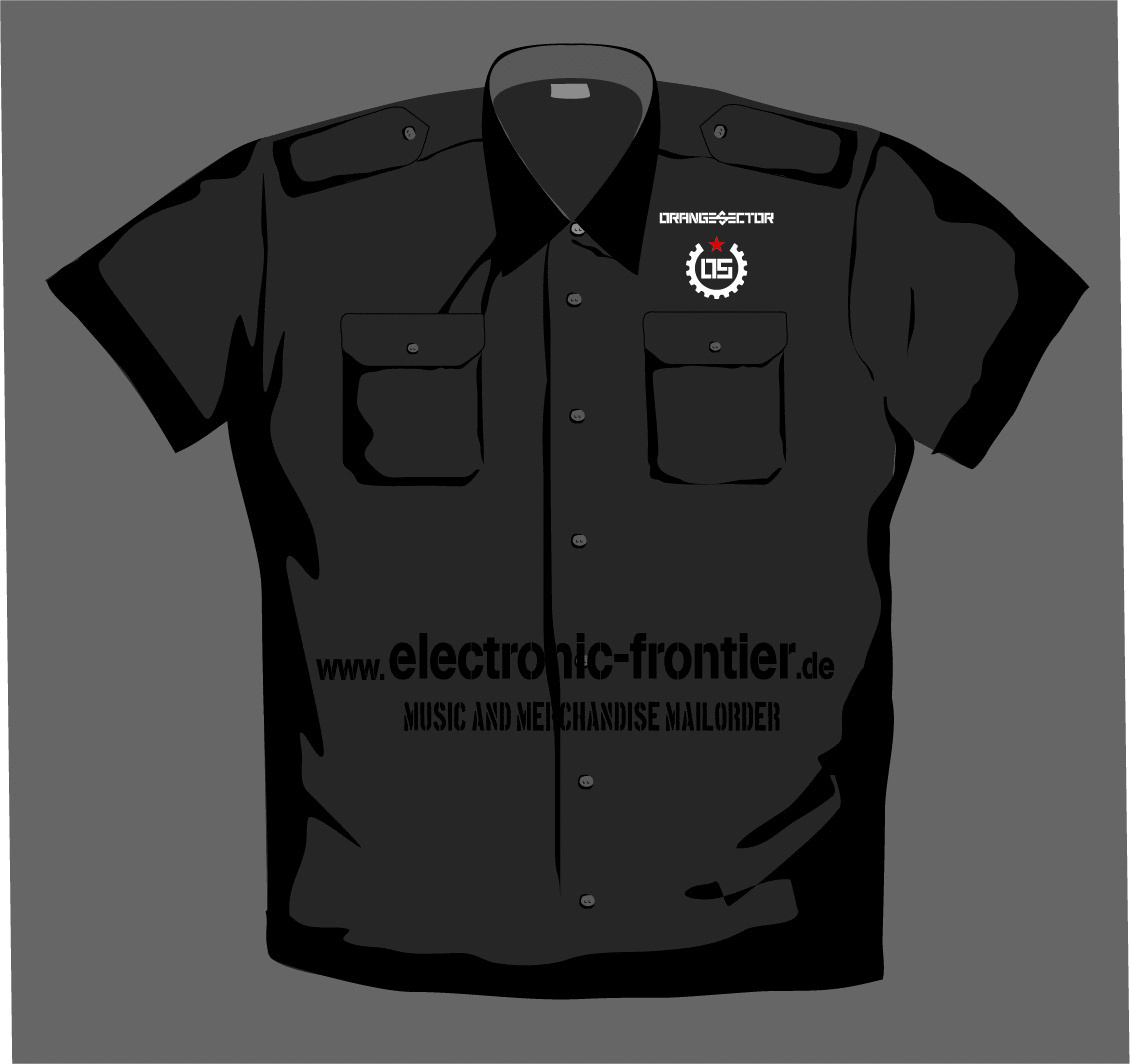 ORANGE SECTOR ALARM Girlie Worker Shirt